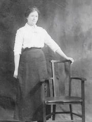 This undated photo of Altha Briggs may have been taken