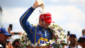 Alexander Rossi has won the 2016 Indianapolis 500.