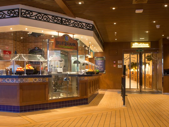 Carnival's BlueIguana Cantina is covered by your cruise fare.