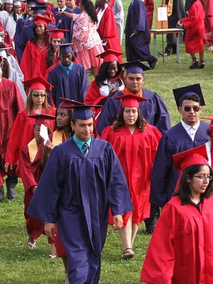 Plainfield High School graduation rates have improved since 2012.