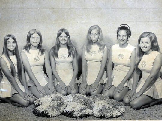 Powell High School cheerleaders attended a workshop