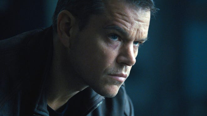 "Matt Damon appears in a scene from ""Jason Bourne."""