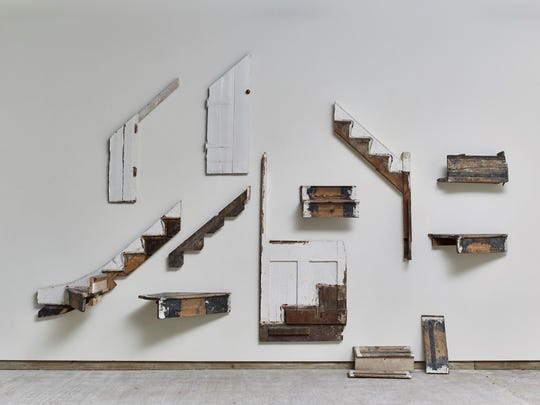 """""""There must be some way outta here"""" by Cornelia Parker"""