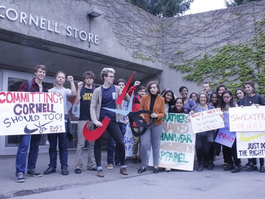 Members of the Cornell Organization for Labor Action