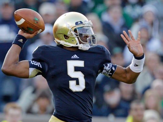 Notre Dame Golson Football