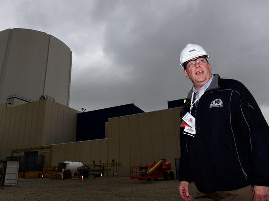 Brian Boles, site vice president at the Davis-Besse Nuclear Power Plant.