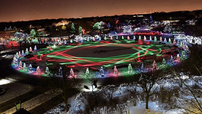 Brookfield Zoo outside of Chicago is hosting its annual Holiday Magic event for the 39th year.