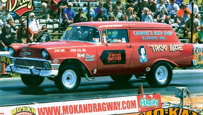 """The award winnershave been announced for the second York US30 Heritage Days and 16th annual York Reunion. The People'sChoice award was won by Mike andConnie Szczepanski from Winona, Minnesota, for the """"Tokyo Rose"""" World Championship car, seen above."""