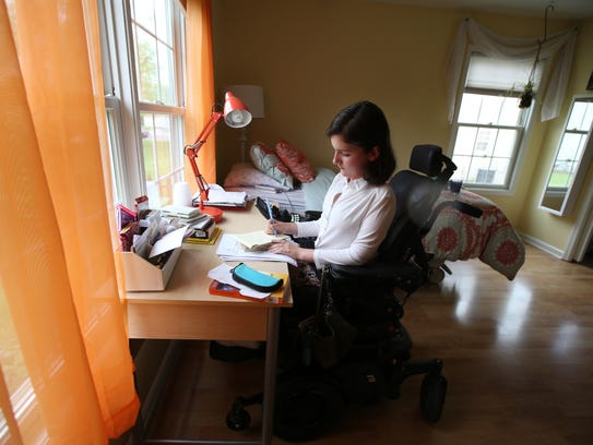 Anna Landre, last year's Freehold Township valedictorian