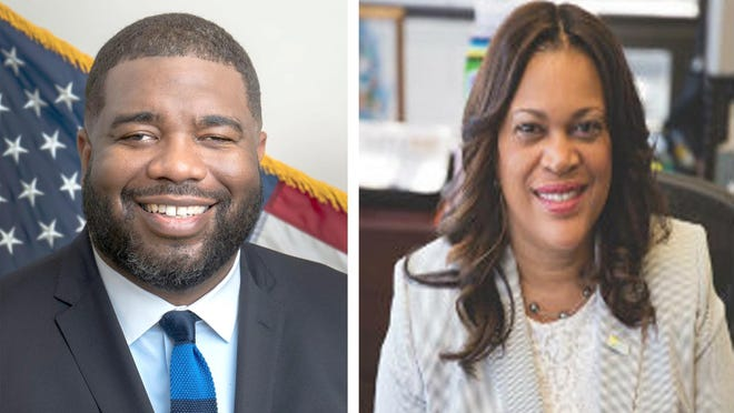 Odie Donald, left, and Sharon Subadan are the two finalists for Augusta city administrator.