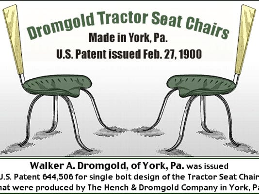 Dromgold tractor seat chairs
