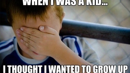 Growing Up Is Tough
