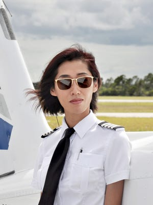 Pilot and flight instructor Julie Wang recently flew solo around the world.