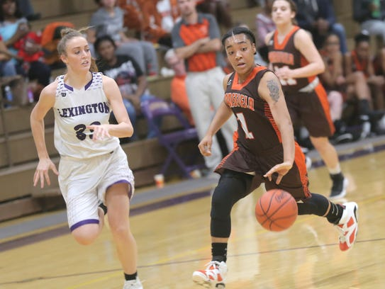 It wasn't easy keeping up with Mansfield Senior's Talayzha