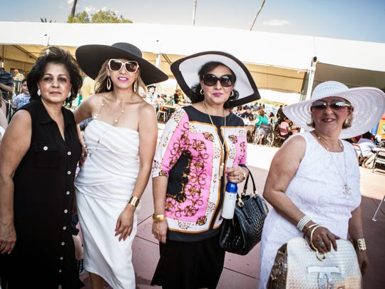 This family had a great time at Turf Paradise's Kentucky Derby party in Phoenix on Saturday, May 2, 2015.