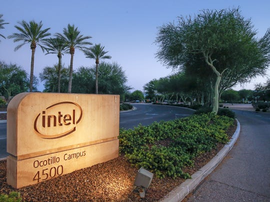Intel Corporation - Ocotillo Campus Tuesday, June 16, 2015 in Chandler, Ariz.  Intel recently notified employees of layoffs.