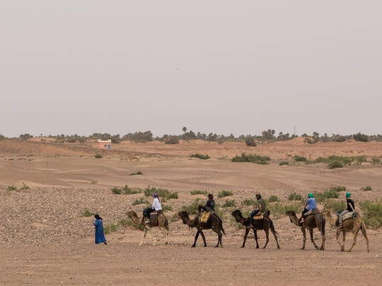 Many former nomads have found work in tourism as camel