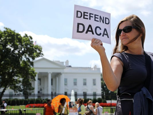 DACA White House Rally