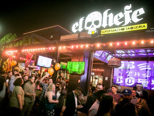The Tempe location of El Hefe sits on Mill Avenue anddraws from the nearby Arizona State University campus.