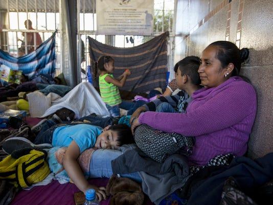 Nogales asylum seekers
