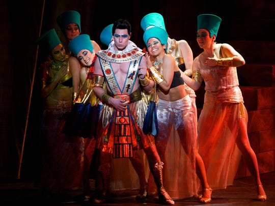 'Joseph and the Amazing Technicolor Dreamcoat' is at Clowes Hall through April 12.