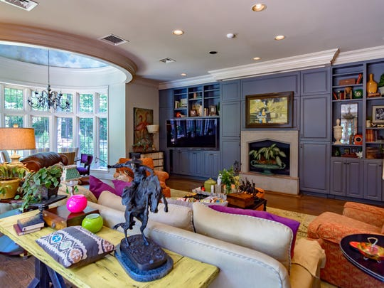 A living space at 555 Monrovia St.