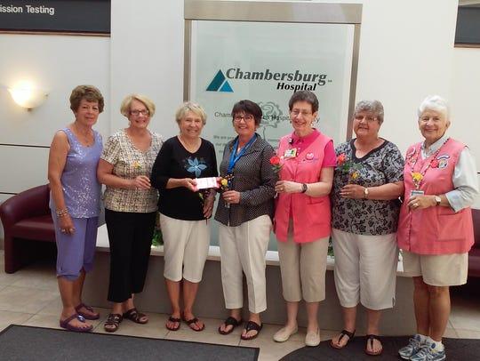 Beta Sigma Phi sorority's local chapter donated $400