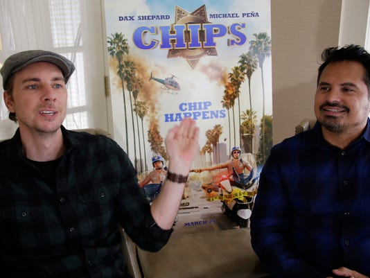 Dax Shepard talks racy (R-rating and motorbikes) new 'CHIPS'
