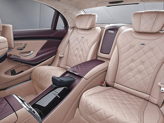 Mercedes-Benz buyers can select the Executive Rear