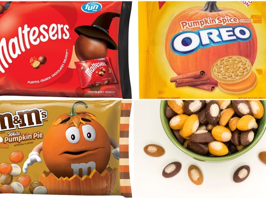 Maltesers, Pumpkin Spice Oreos, White Pumpkin Pie M&M's