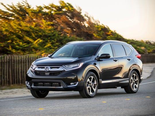 The 2017 Honda CR-V was named Motor Trend's SUV of