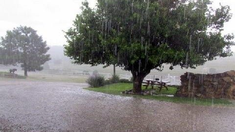 Monsoons season brings afternoon downpours.