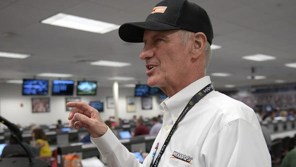 Eddie Wood, after he told his story Saturday afternoon