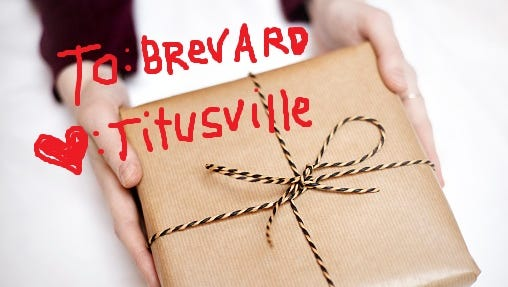 """Titusville gave Brevard an early Christmas present this year: A half naked man riding on the hood of a """"stolen"""" jeep."""