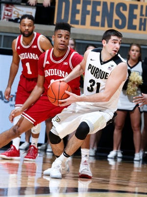 Arch rivals Indiana and Purdue will face off just once in the regular season in 2017-18.