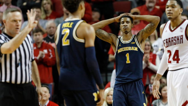 Michigan suffered a 20-point loss at Nebraska last week, but the Wolverines shouldn't fall far in the AP rankings, if voters are paying attention.