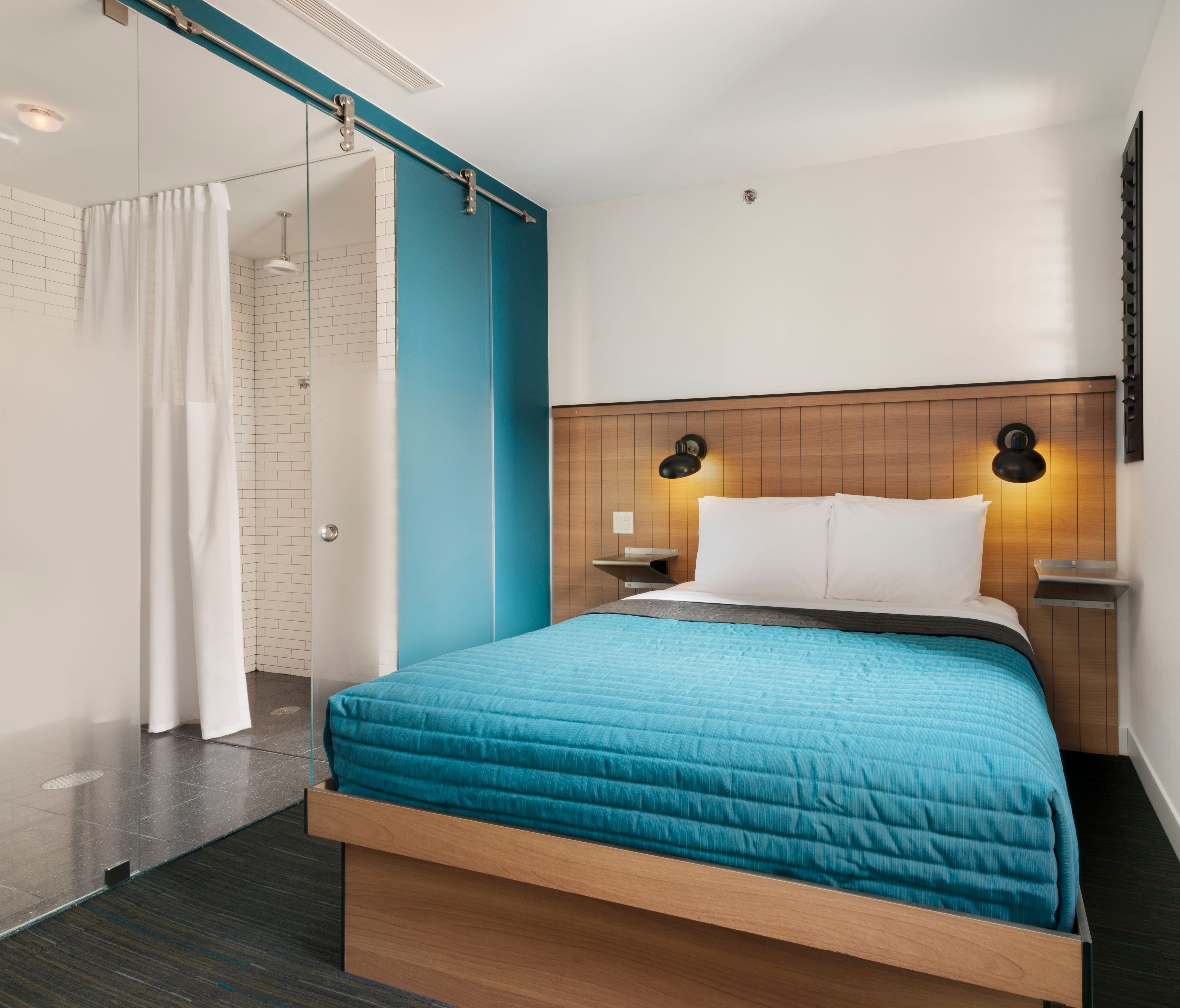 The incredible shrinking hotel room for Design hotel chain