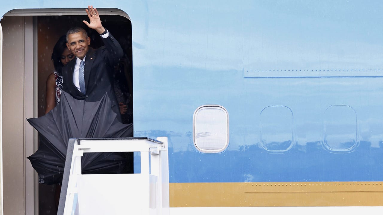 Obama arrives in Havana for historic visit