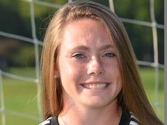 Marion's Chloe DeLyser breaks Section V soccer scoring record