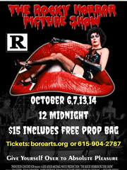 'Rocky Horror Picture Show' will be shown Oct. 6-7 and Oct. 13-14.