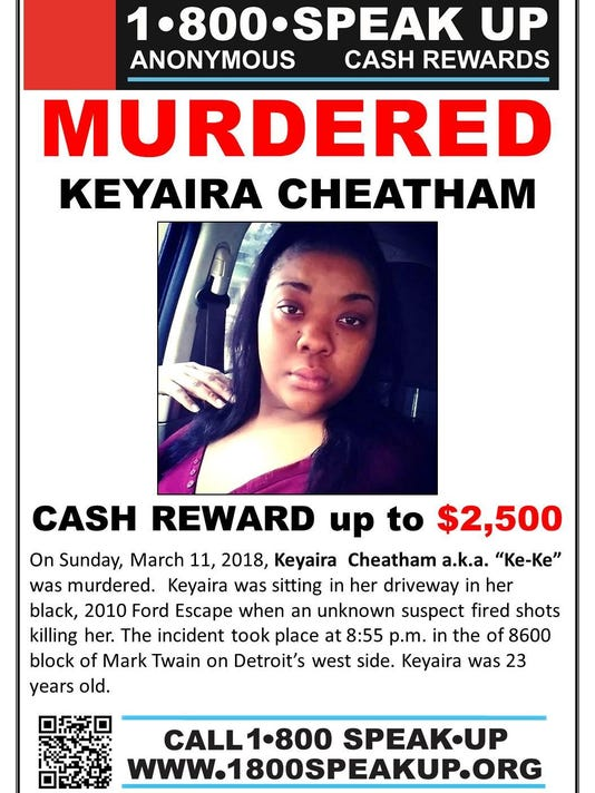 Keyaira Cheatham - Poster