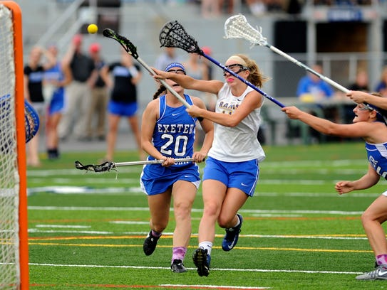 Kennard-Dale's Emmie Dressel shoots and scores against