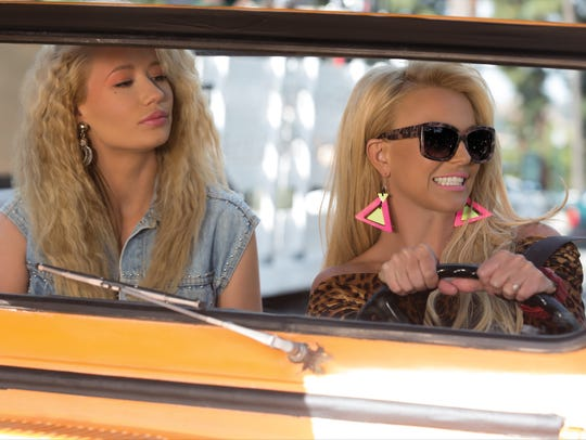 Iggy Azalea and Britney Spears star in the video for