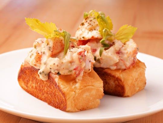"""The lobster roll """"Nik Niks"""" from Buck & Rider in Phoenix"""
