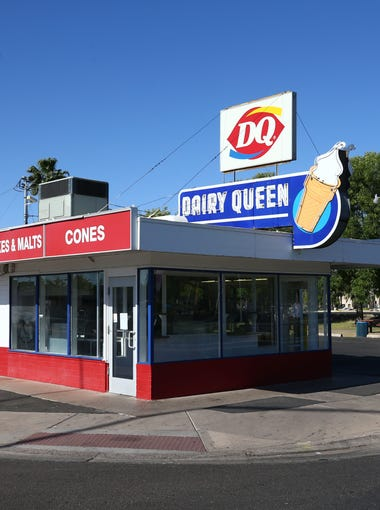 Dairy Queen at 629 E. Main St. has closed on May 4, 2018, in Mesa. The Dairy Queen was built in 1949. A neon sign was placed atop the building sometime in the 1950s, Vic Linoff, a Mesa preservationist, estimates. The city's stretch of Main Street is home to several landmark neon signs, including the Starlite Motel's diving lady, restored in 2013, and the massive sign in front of Buckhorn Baths, a now-closed motel from a bygone era.