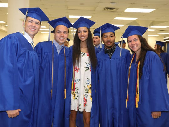 Walter Panas High School held their 46th annual commencement