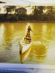 Even as a youngster, Jackie Wibbenmmeyer loved to paddle