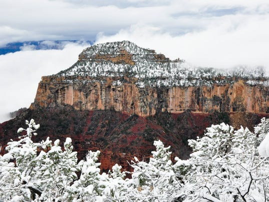 Closing down the North Rim of the Grand Canyon for the winter