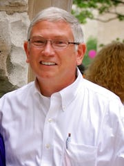 Dr. Michael Harbour, minister of Fourth and Elm Church