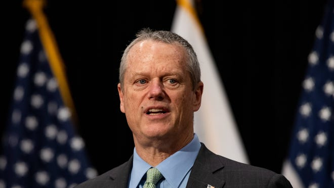 Gov. Charlie Baker on Friday morning signed an interim budget to keep state government running when the new fiscal year begins next Wednesday.